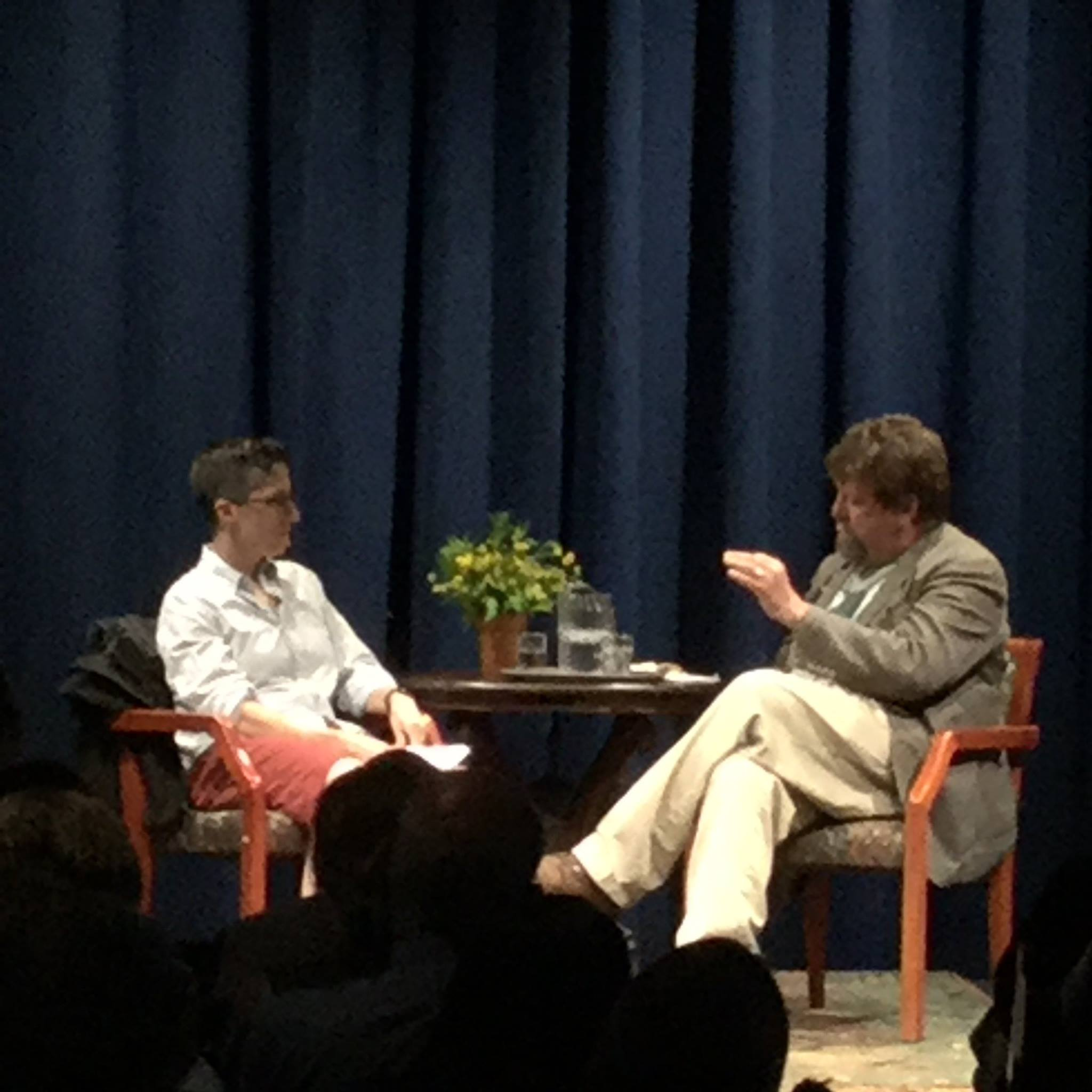 The Drew Lecture: Author Alison Bechdel in conversation with Oskar Eustis, Artistic Director of The Public Theatre & Bread Loaf Faculty Member