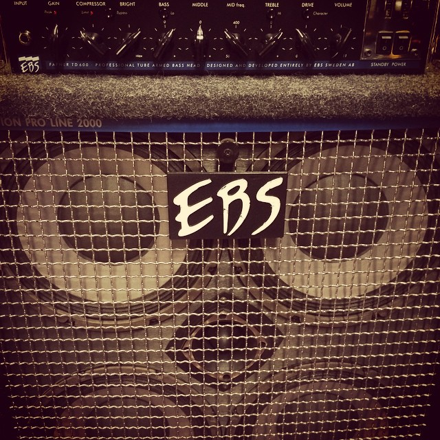 The newest member of the band is the prettiest... And also the heaviest. #ebsbass #power #thebrownnote