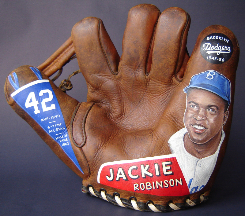 Jackie Robinson (front) [SOLD]  info >