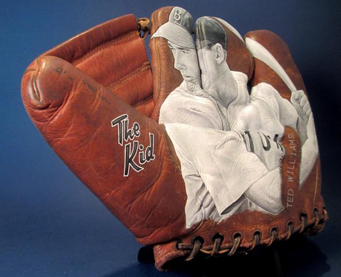Sean-Kane-Ted-Williams-Baseball-Glove-Art-The-Kid.jpg