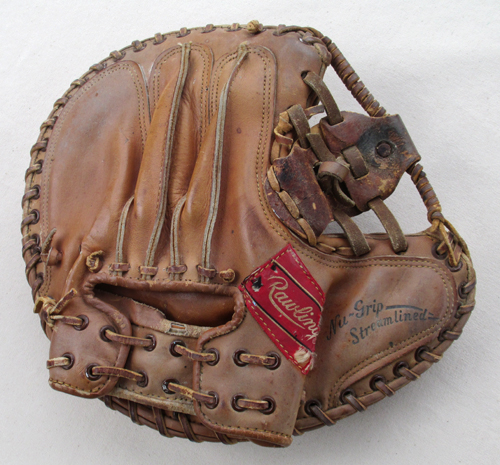 Sean-Kane-Bob-Uecker-Major-League-Painted-Baseball-Glove-HOHX.jpg
