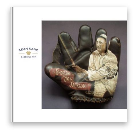 Sean Kane Baseball Art: Paintings of Ballpark Heroes on Classic Baseball Gloves