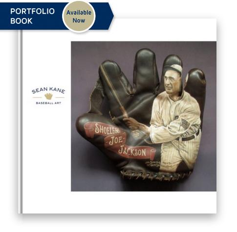 Sean Kane Baseball Art: Paintings of Ballpark Heroes on Classic Baseball Gloves