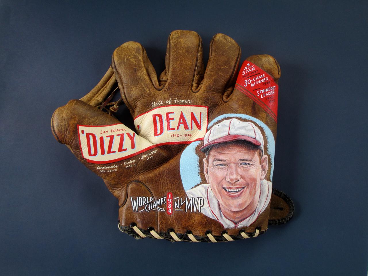 Dizzy Dean Glove Art