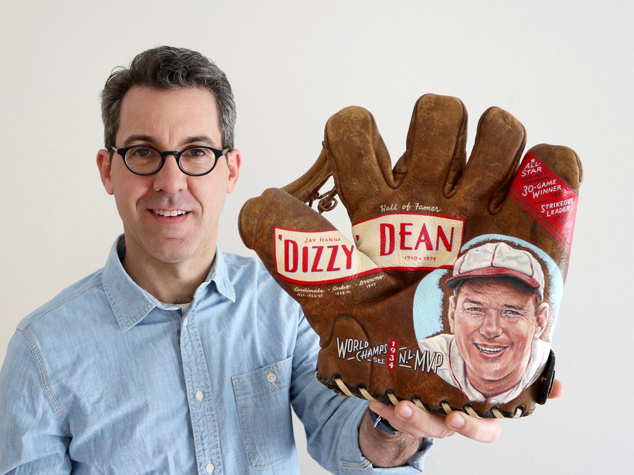 Sean Kane w/ Dizzy Dean Glove