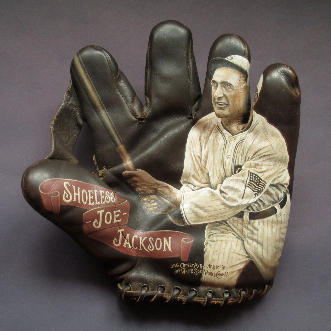 Shoeless Joe Jackson Glove