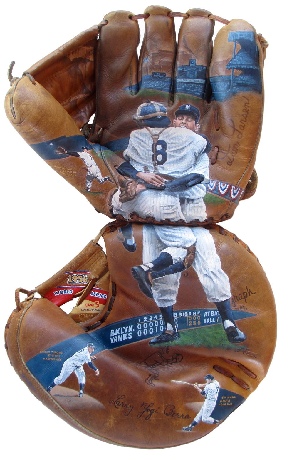 Don Larson Perfect Game 2-Glove Art