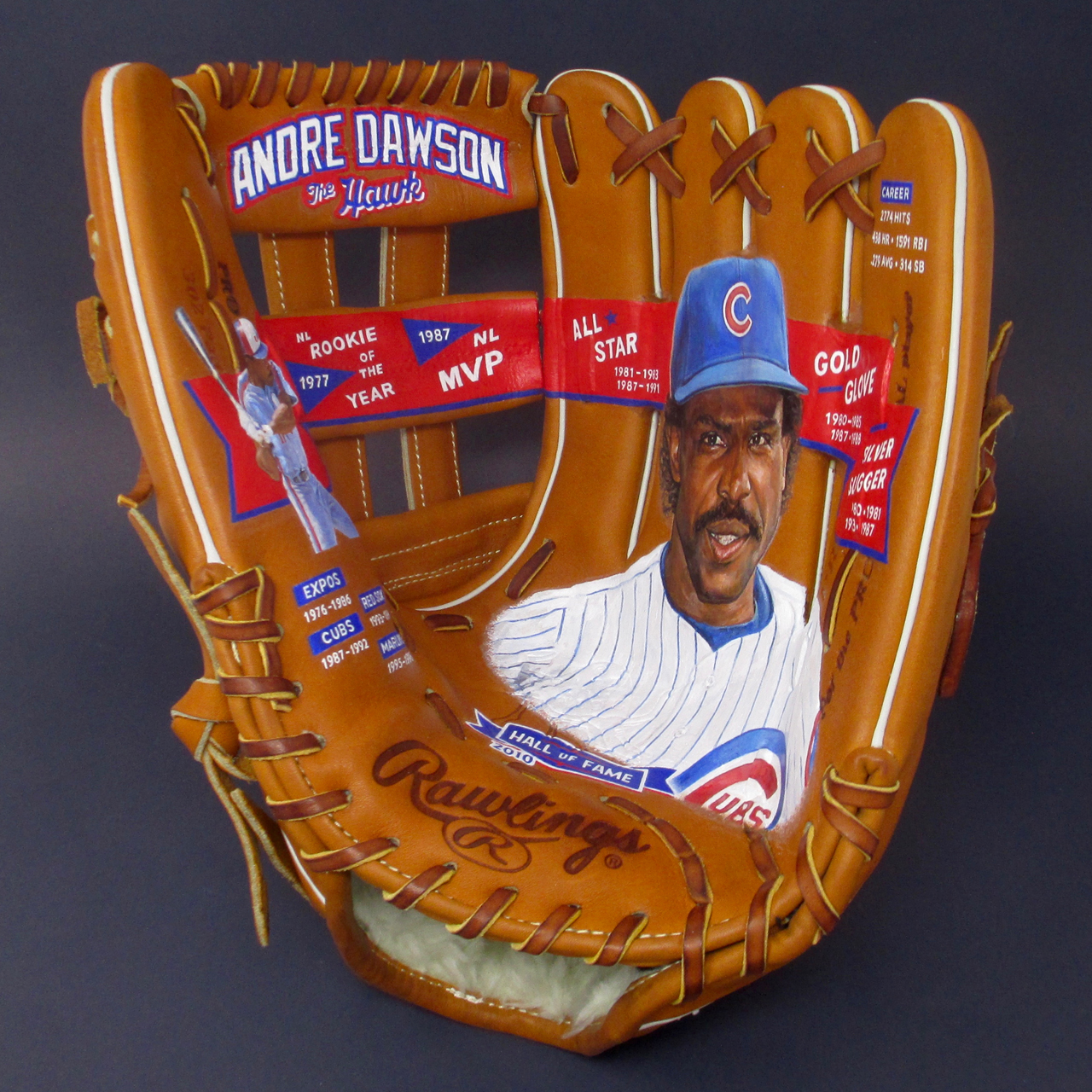 """The Hawk"" Andre Dawson Glove"