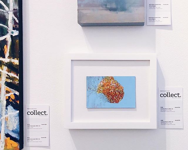 Come find my 3 pieces, and lots of other great work, at Collect in the ICA at MECA June 28-30!