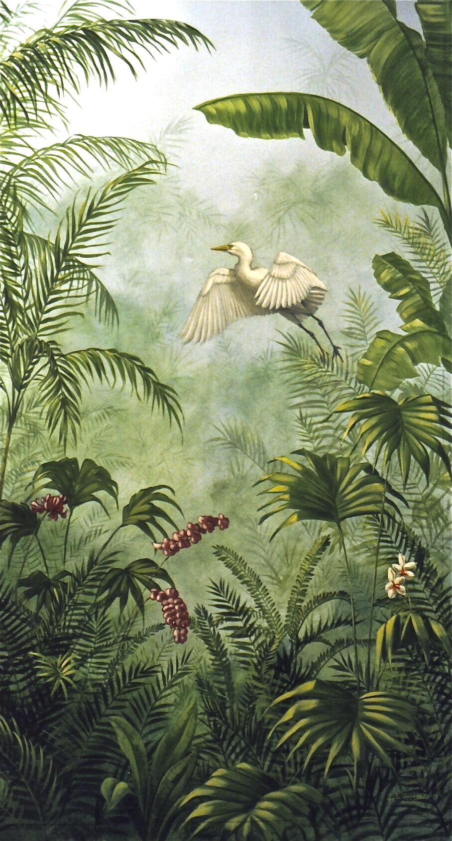 Egret, Jungle