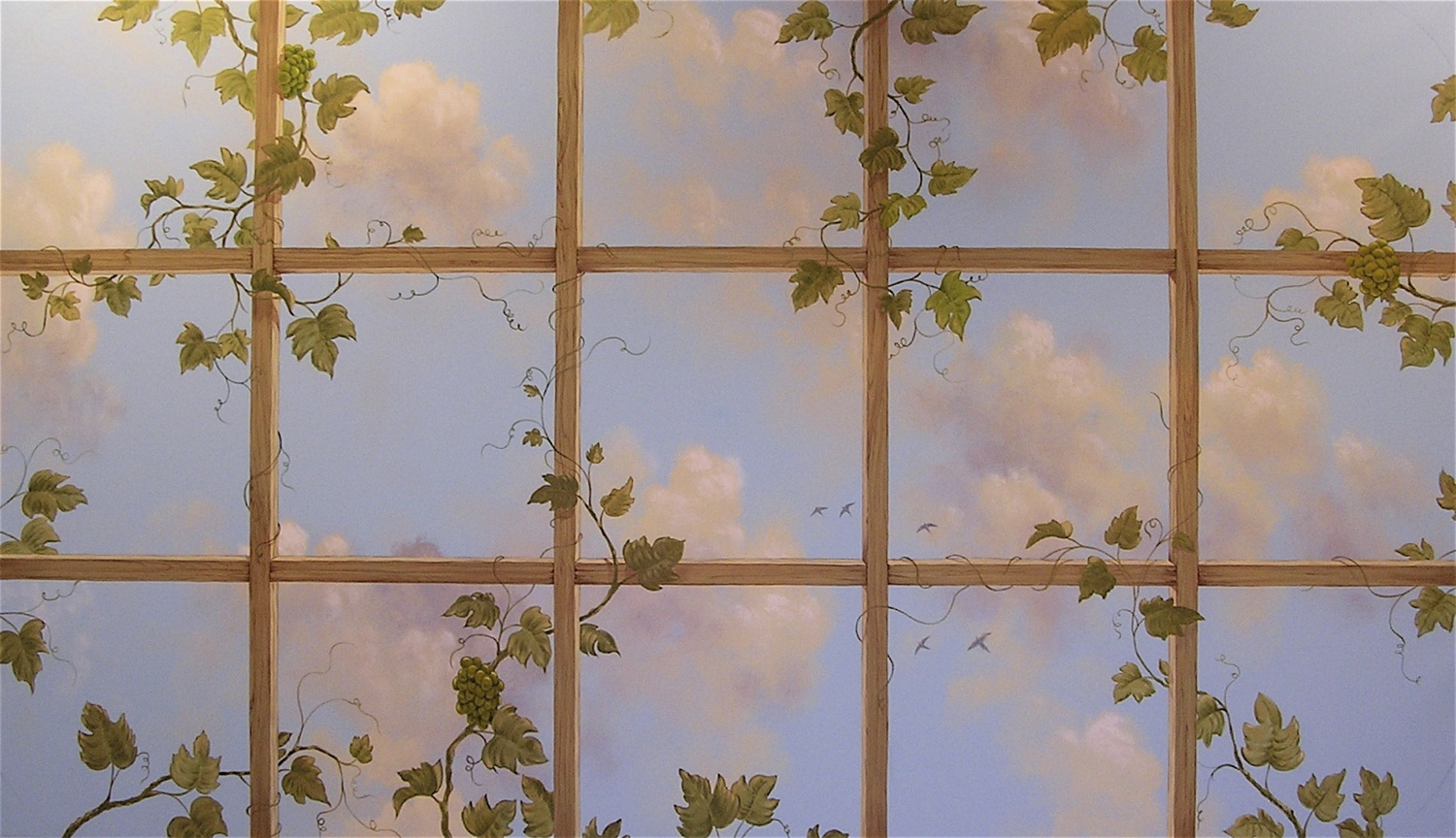 Trellis and Grapevines