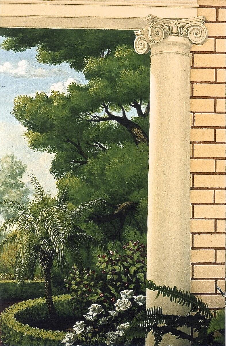 Garden Iconic Pediment