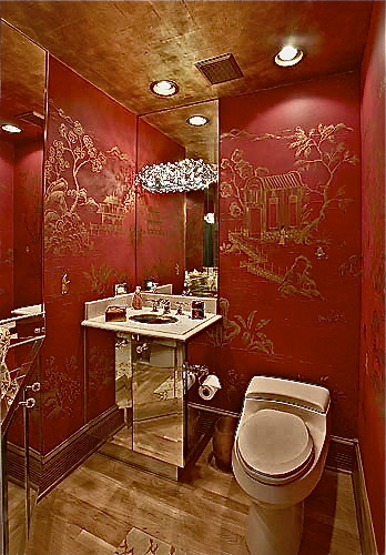 Chinoiserie, Red and Gold