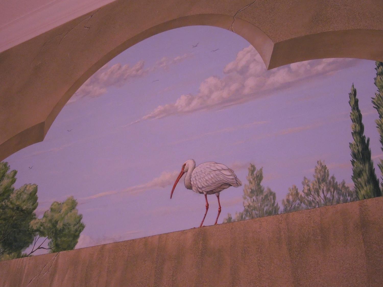 Trompe L'oiel Window