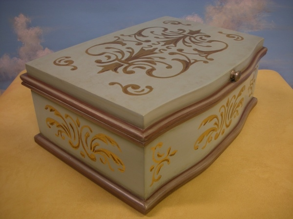 Painted Jewelry Box