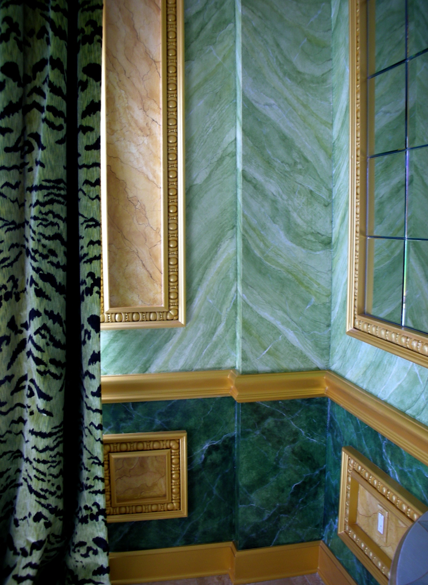 Faux Marble Walls