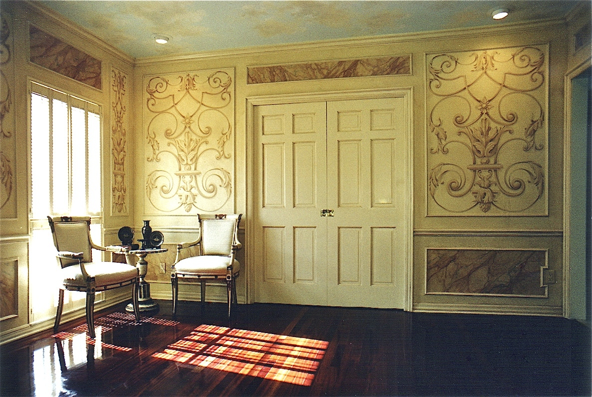 Ornament Panels and Faux Marble