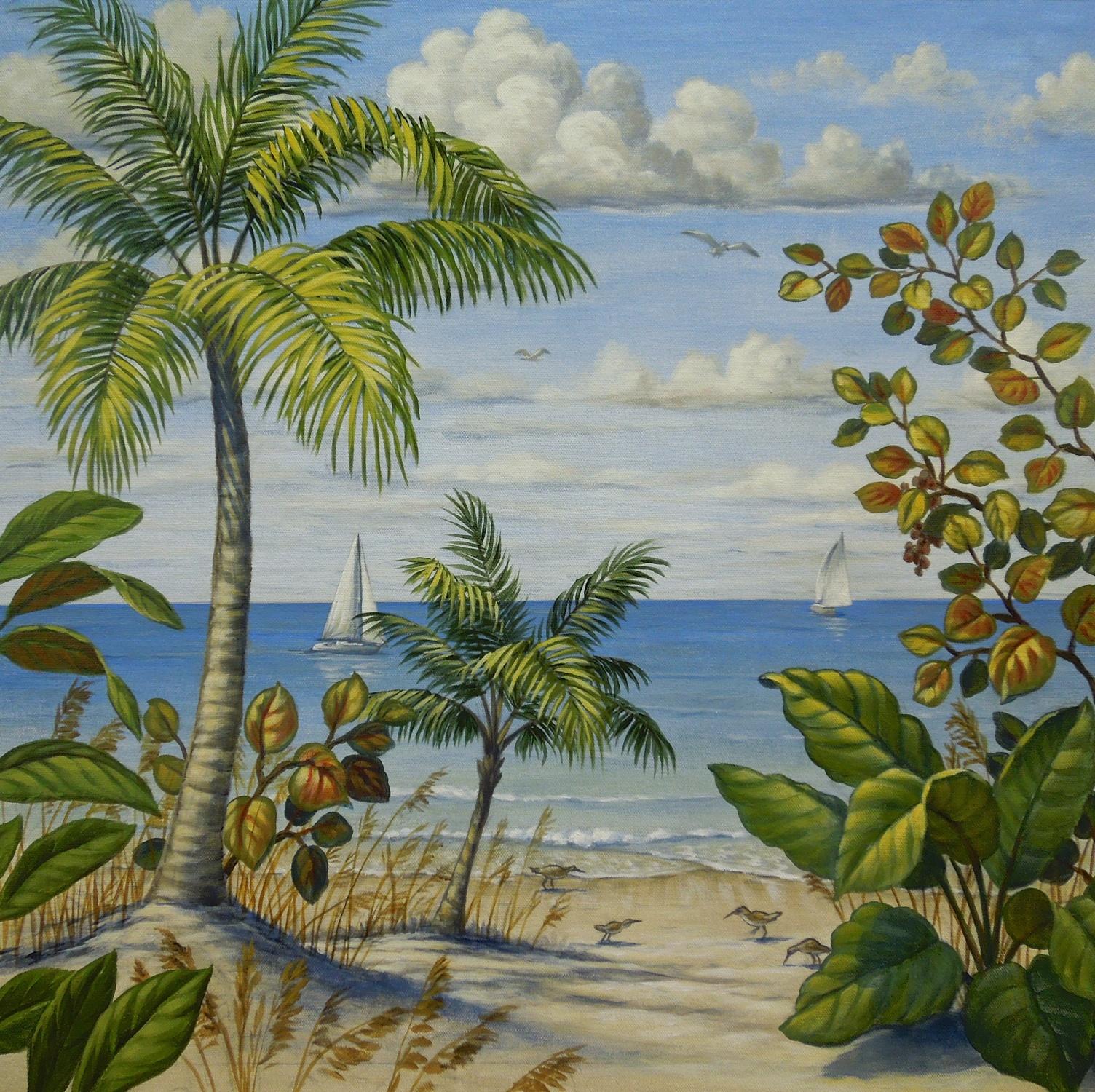 Florida Beach Scene 2 of 4