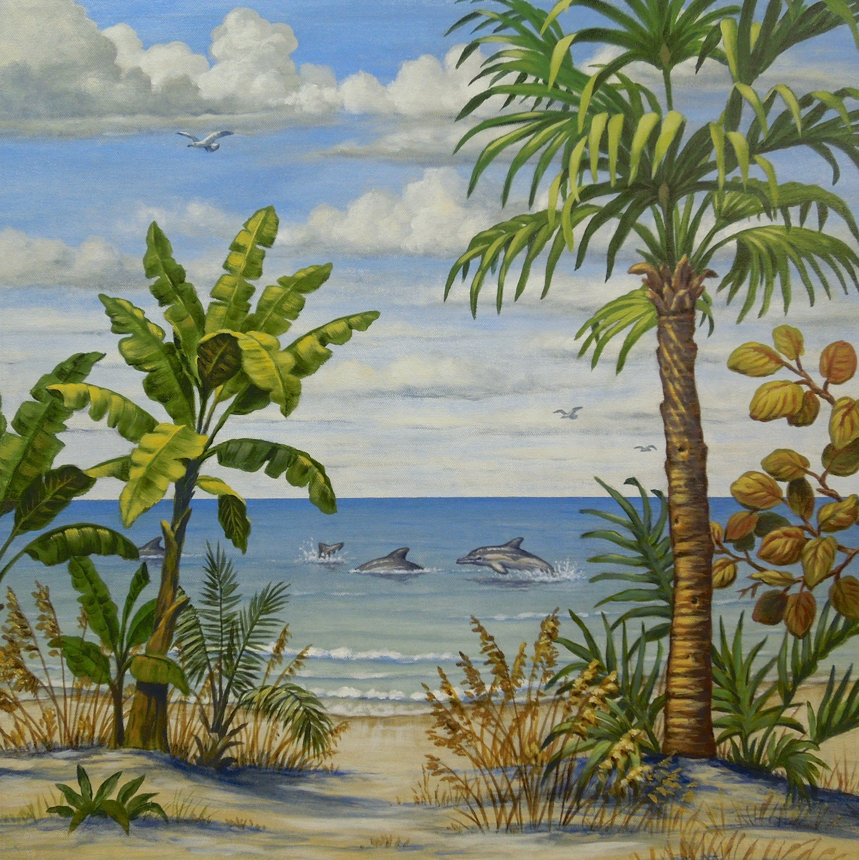 Florida Beach Scene 4 of 4