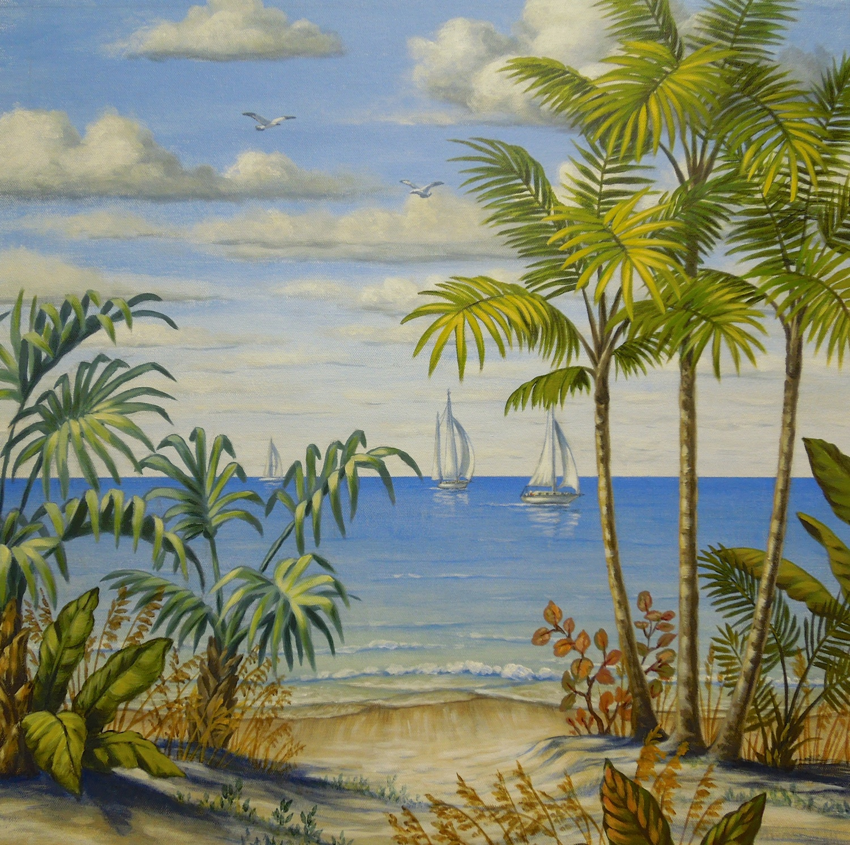 Florida Beach Scene 1 of 4