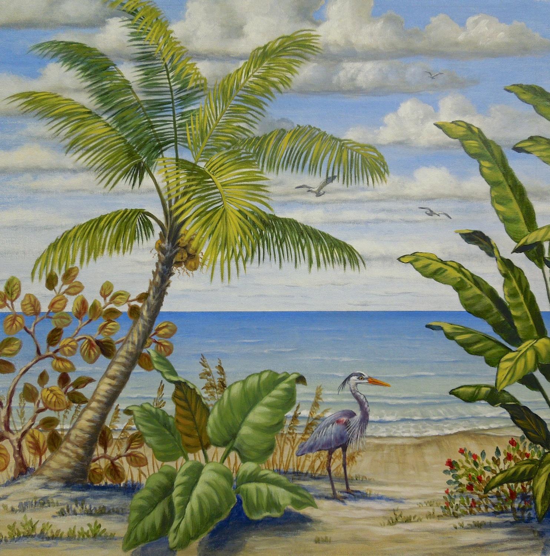 Florida Beach Scene 3 of 4
