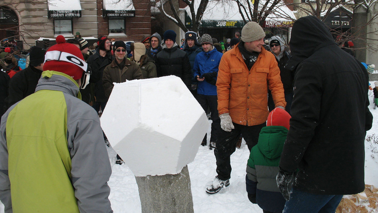 Snowdecahedrons - Union Square