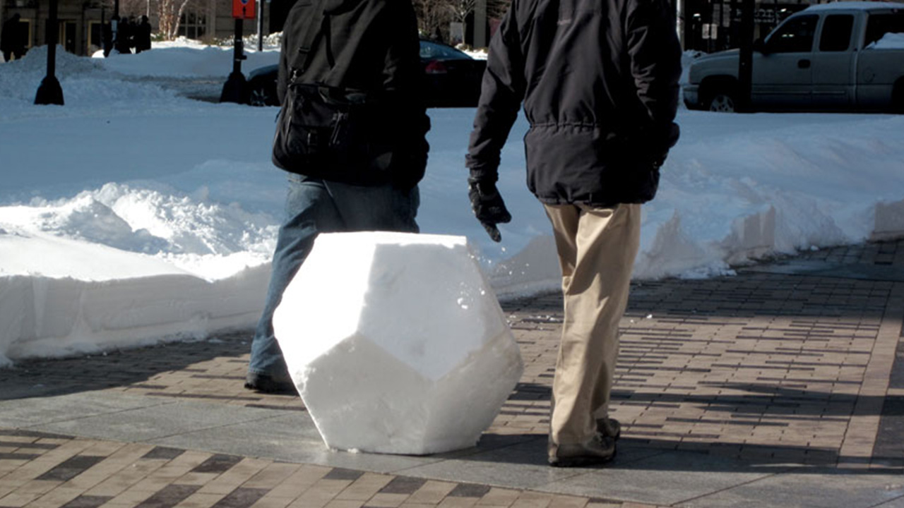 Snowdecahedrons - South Station