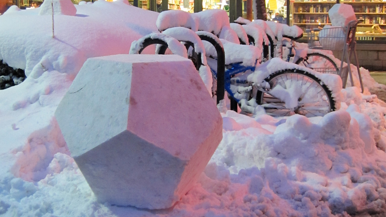 Snowdecahedron - Port Square