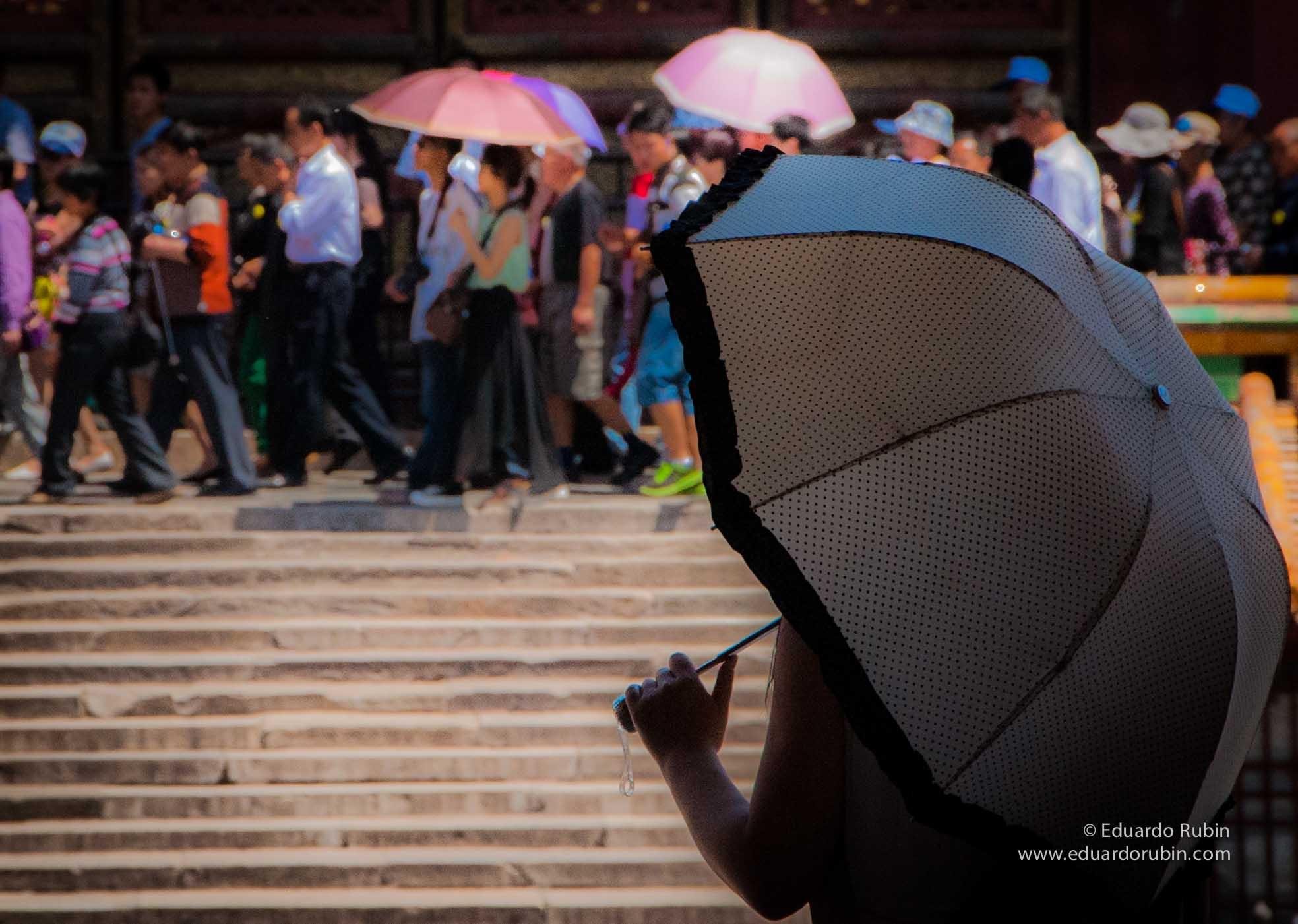 Umbrellas competition