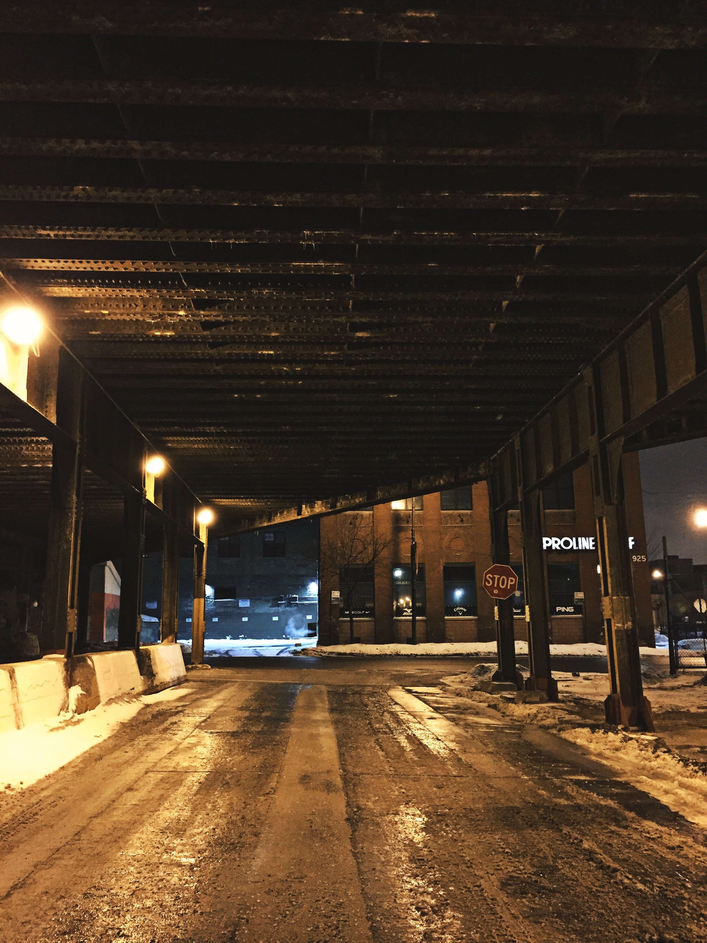 Railroad Bridge, Lessing and Chicago Ave