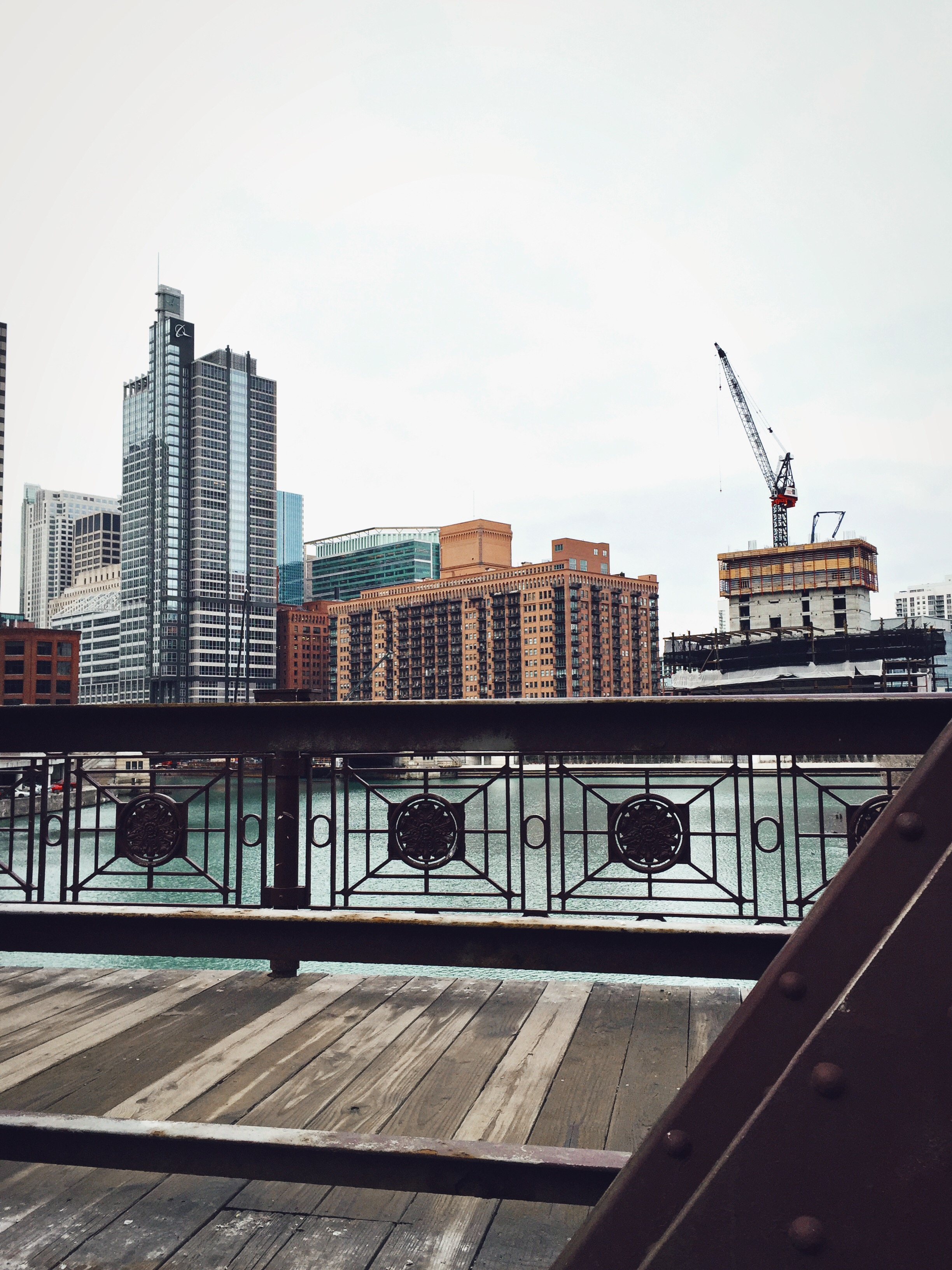 Franklin St. Bridge, Chicago River