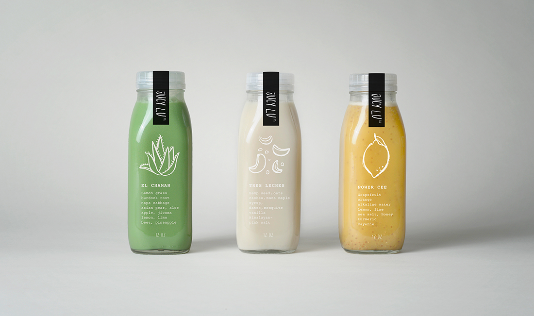 Cold-pressed Juice Bottles