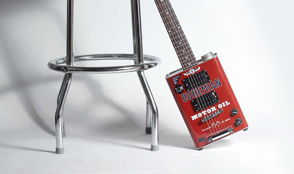 Bohemian Guitars - Boho Motor Oil Guitar. $299