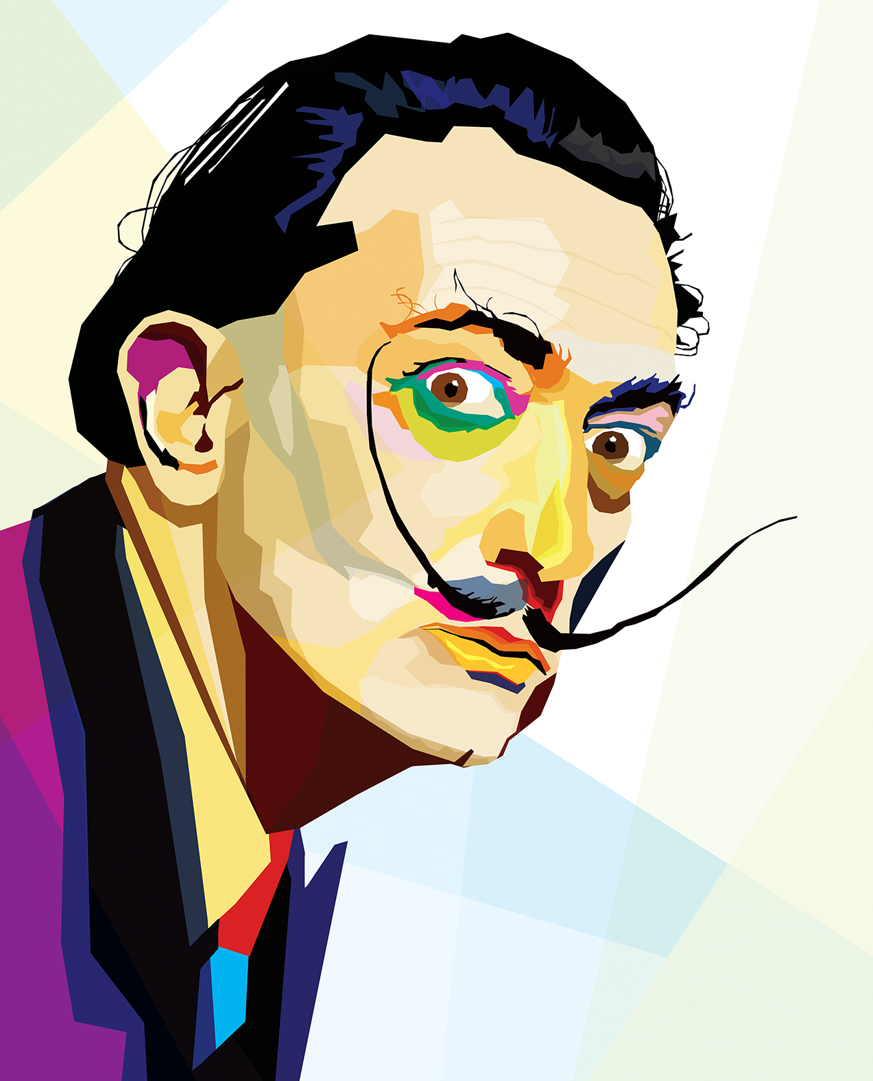 Salvador Dalí by Gilberto Mevi