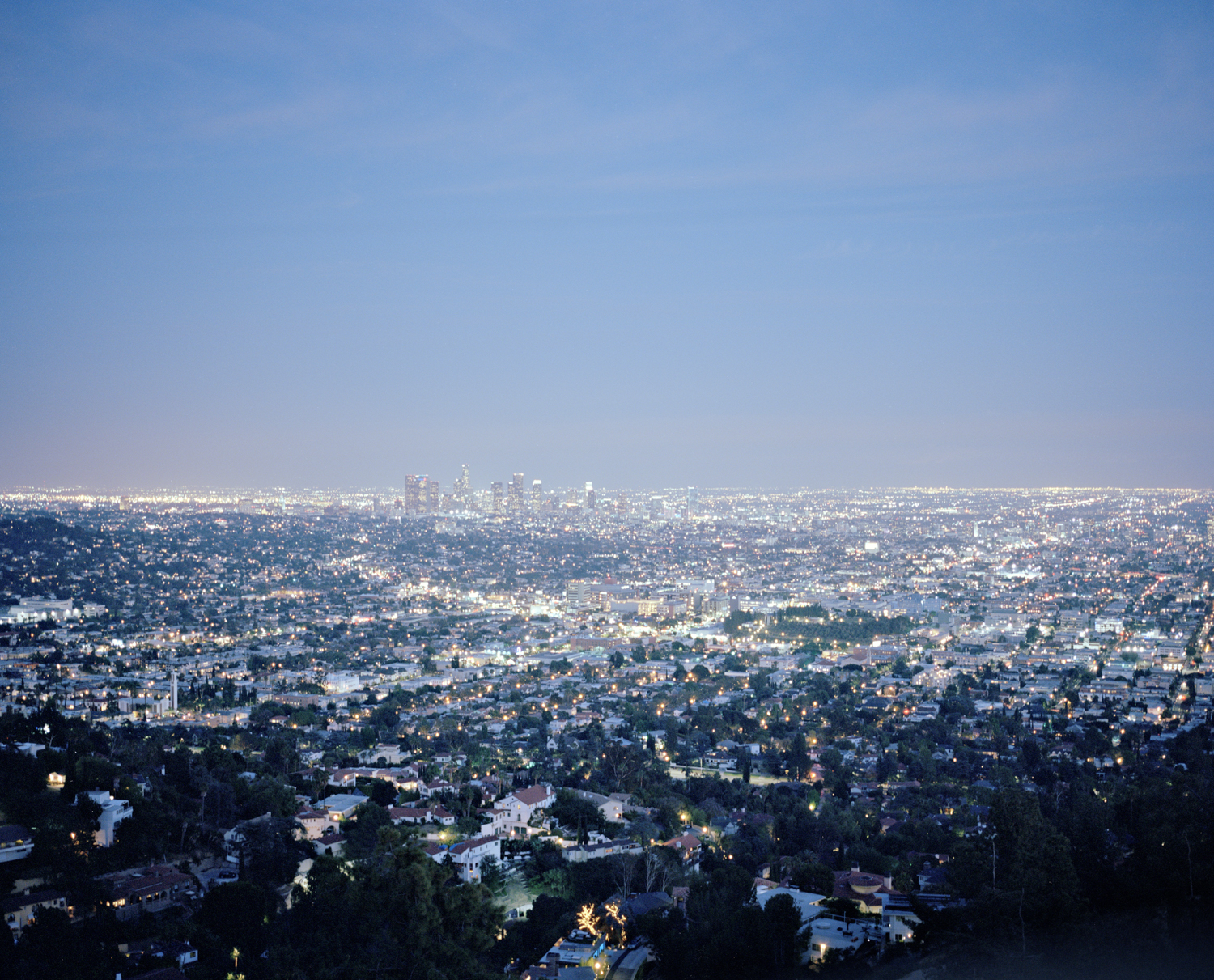 Downtown and the rest,  Los Angeles