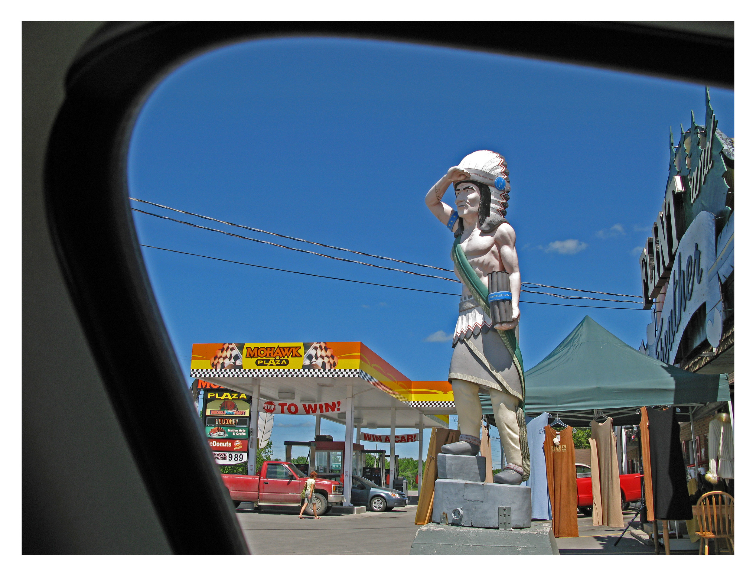 32. Tyendinaga Reserve, Ontario, Drive by view of  Mohawk Plaza .jpg