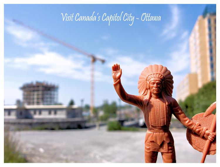 Ottawa, Ontario, 2013 Postcard