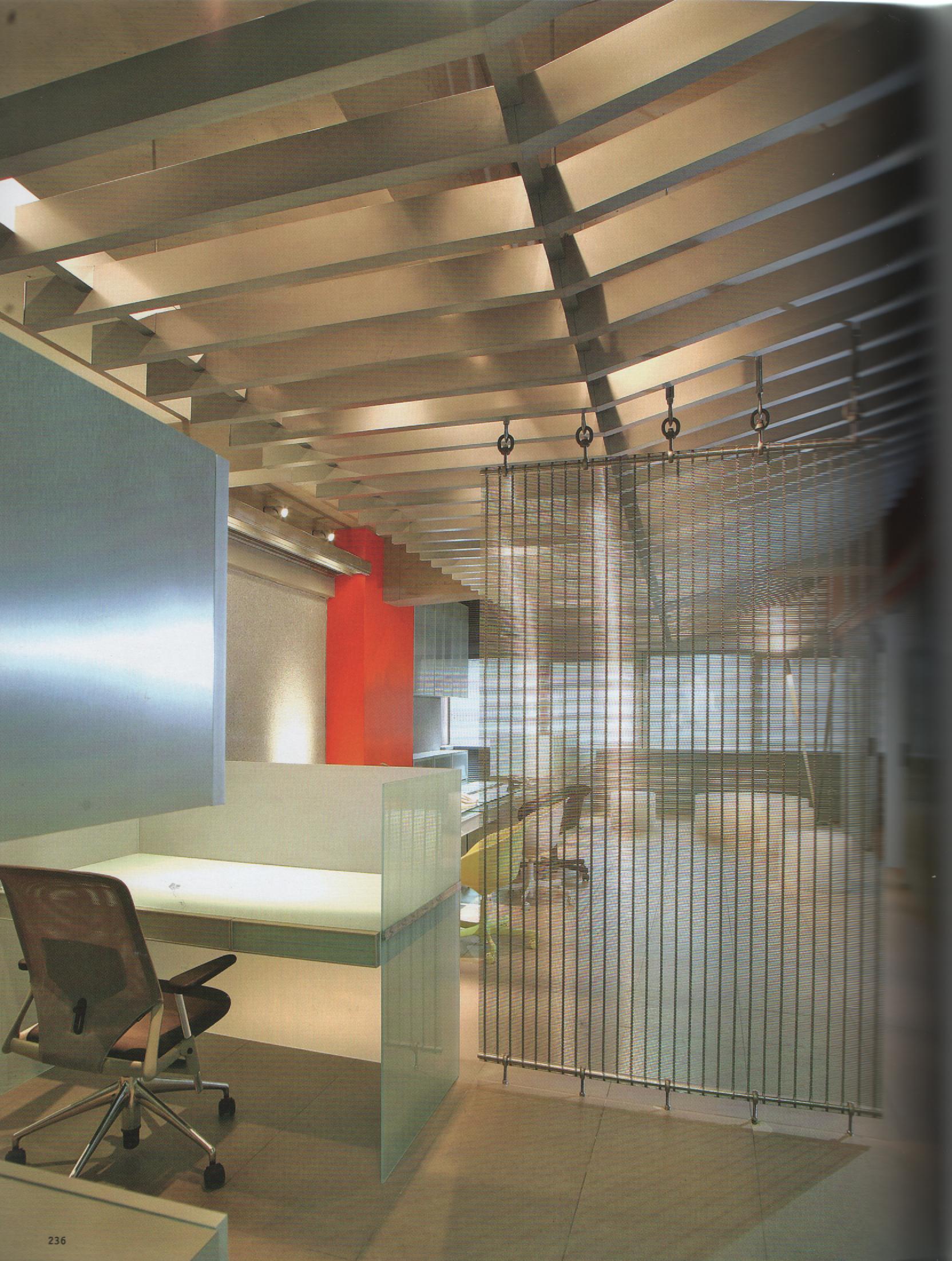 2009 Tercer Salón de Arquitectura Interior SAI   Selected project: Serviwall Office/Showrooom  DecoNews,