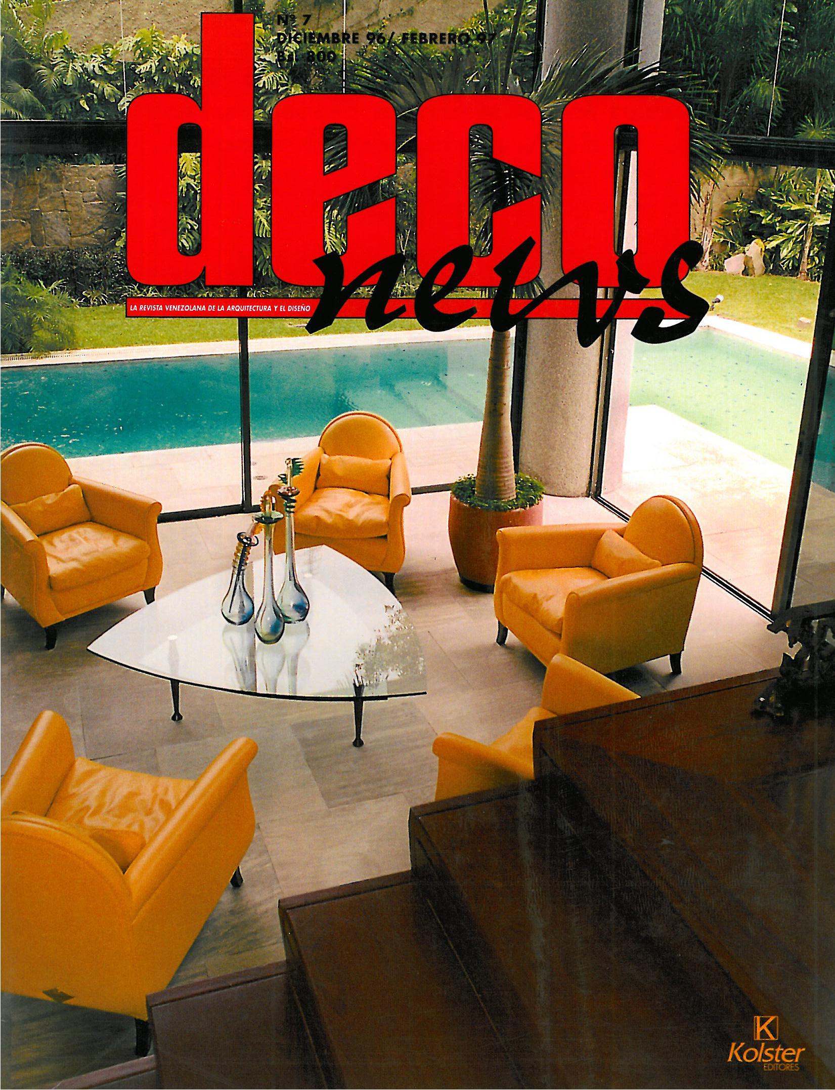 2000 XII Bienal de Quito   Pre-selected project, Interior Architecture  Apto PB Res. El Parque, Caracas