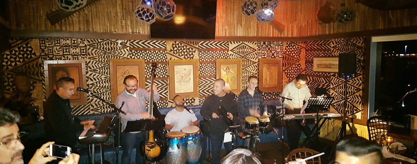Conjunto VibraSON at Trader Vic's Emeryville lounge - Dec 8, 2018 - FREE admission and great food/drinks!