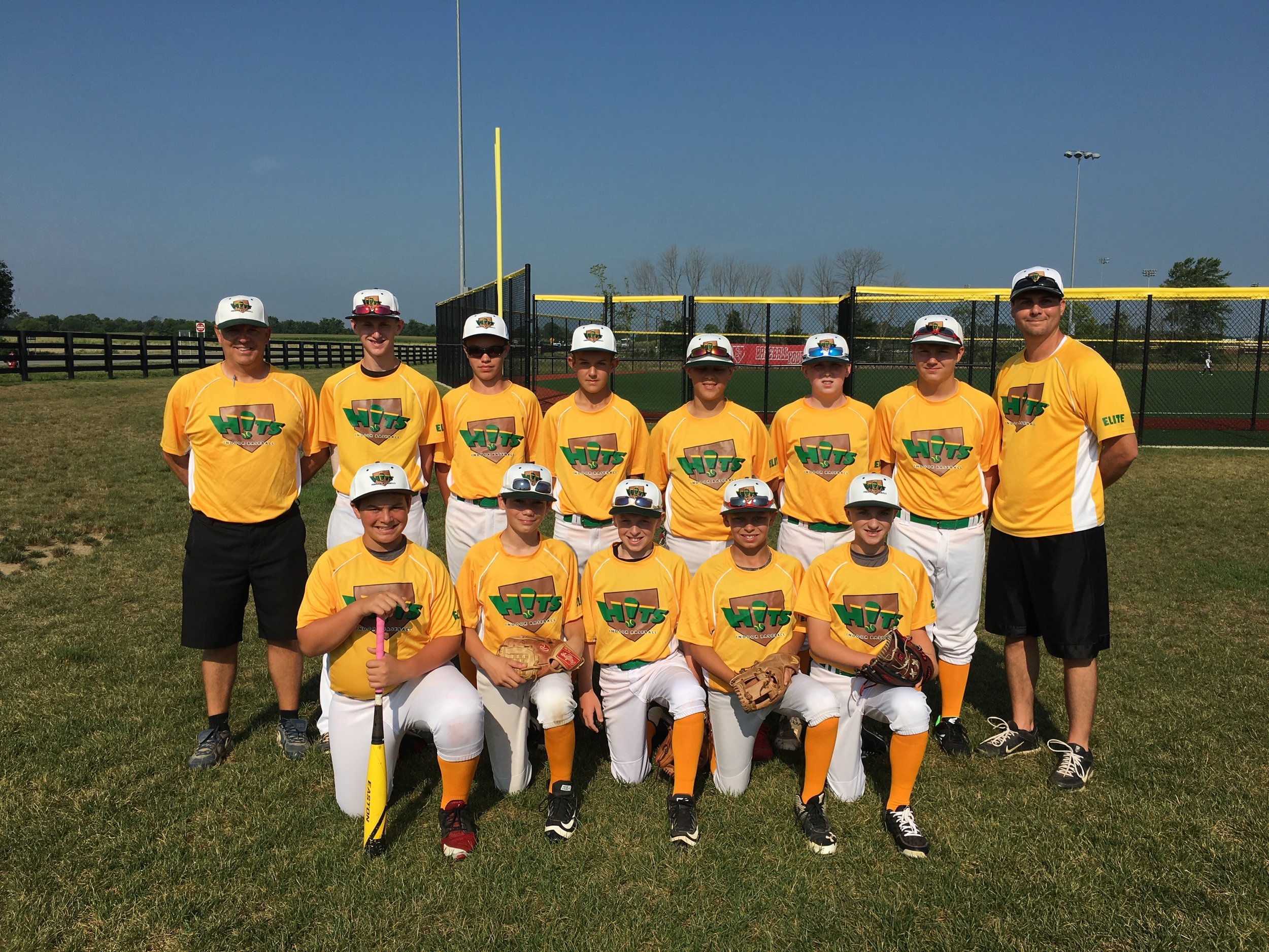12U HITE ELITE preparing to begin competition at the BASEBALL YOUTH NATIONAL CHAMPOINSHIPS