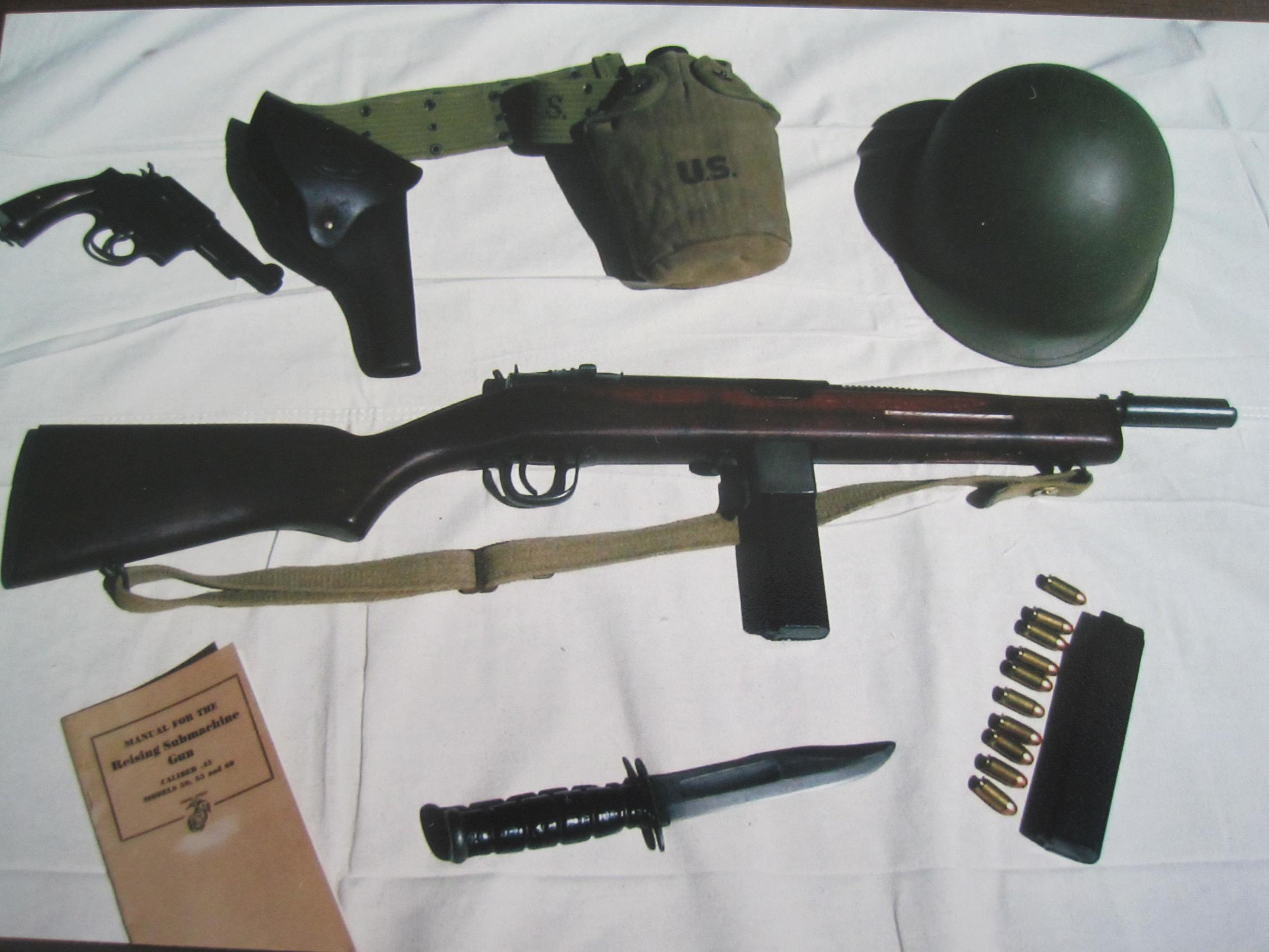 Reising Model 50 as used by the USMC