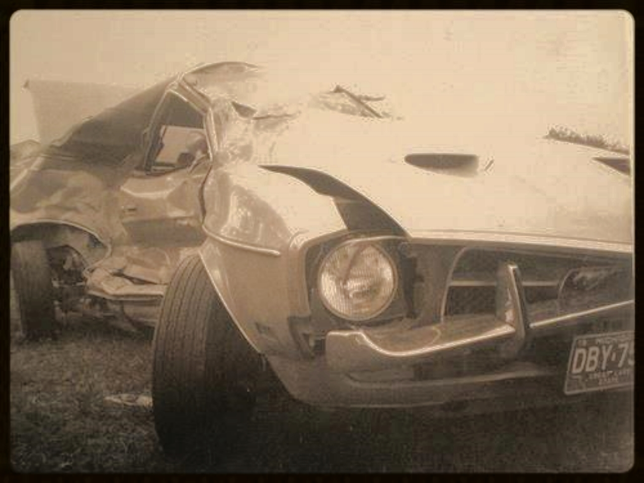 Fri  day, September 15, 1972. Fellow officer, Dennis Neimic, was on a narcotics investigation in Detroit using my Mustang when he was broadsided by a motorist who ran a red light. Neimic lived, but was hospitalized for weeks.