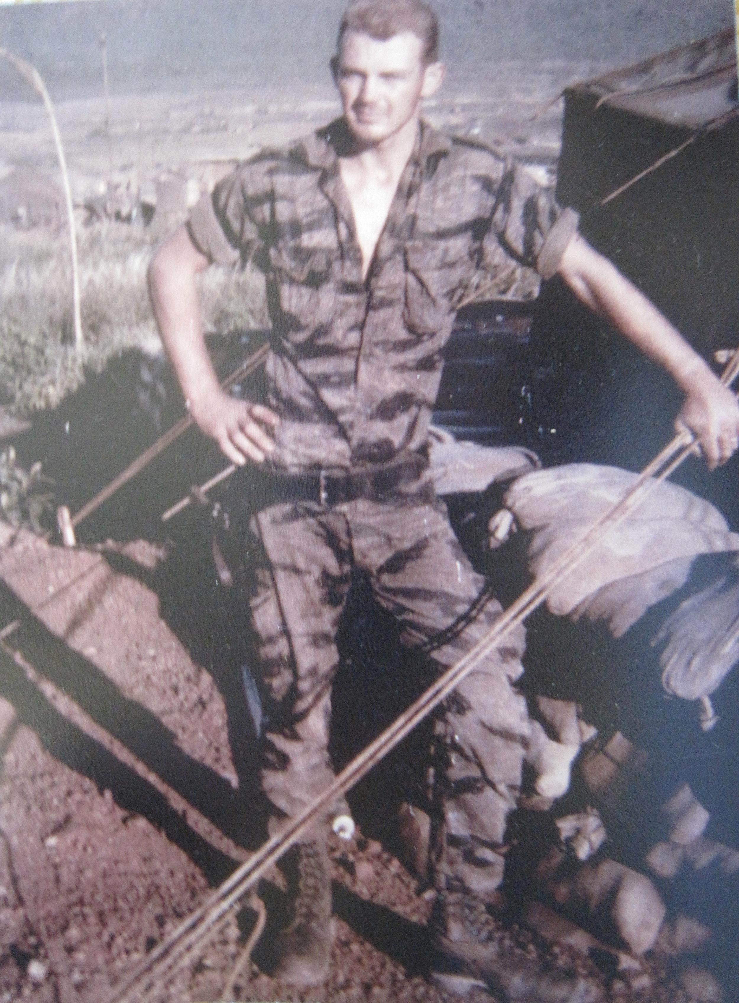 LZEnglish. My ATL, Burt Penkunis, aRecondo School grad and former line-infantryman