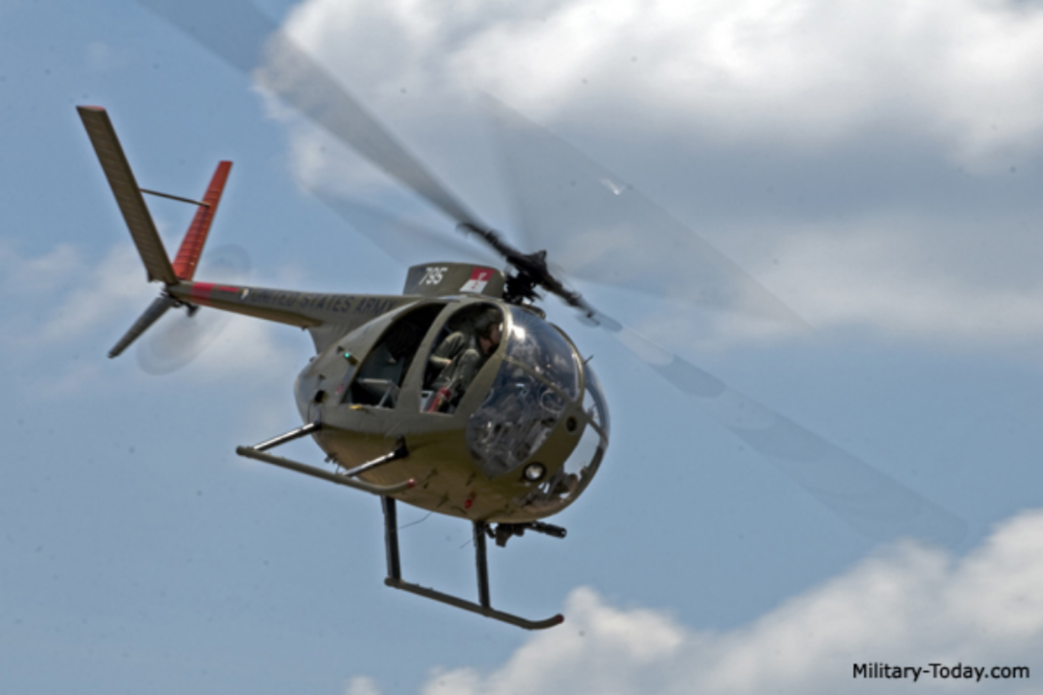 """OH-6 Light Observation Helicopter """"LOH"""""""