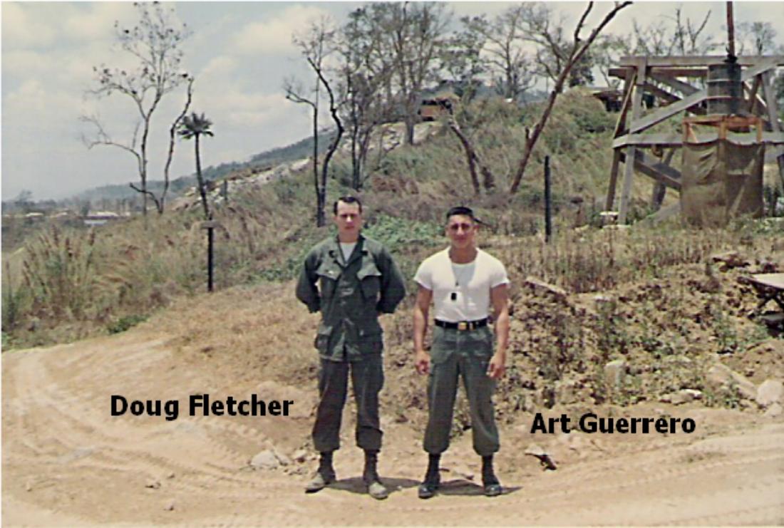 Doug Fletcher and Art Guerrero,Camp Radcliff