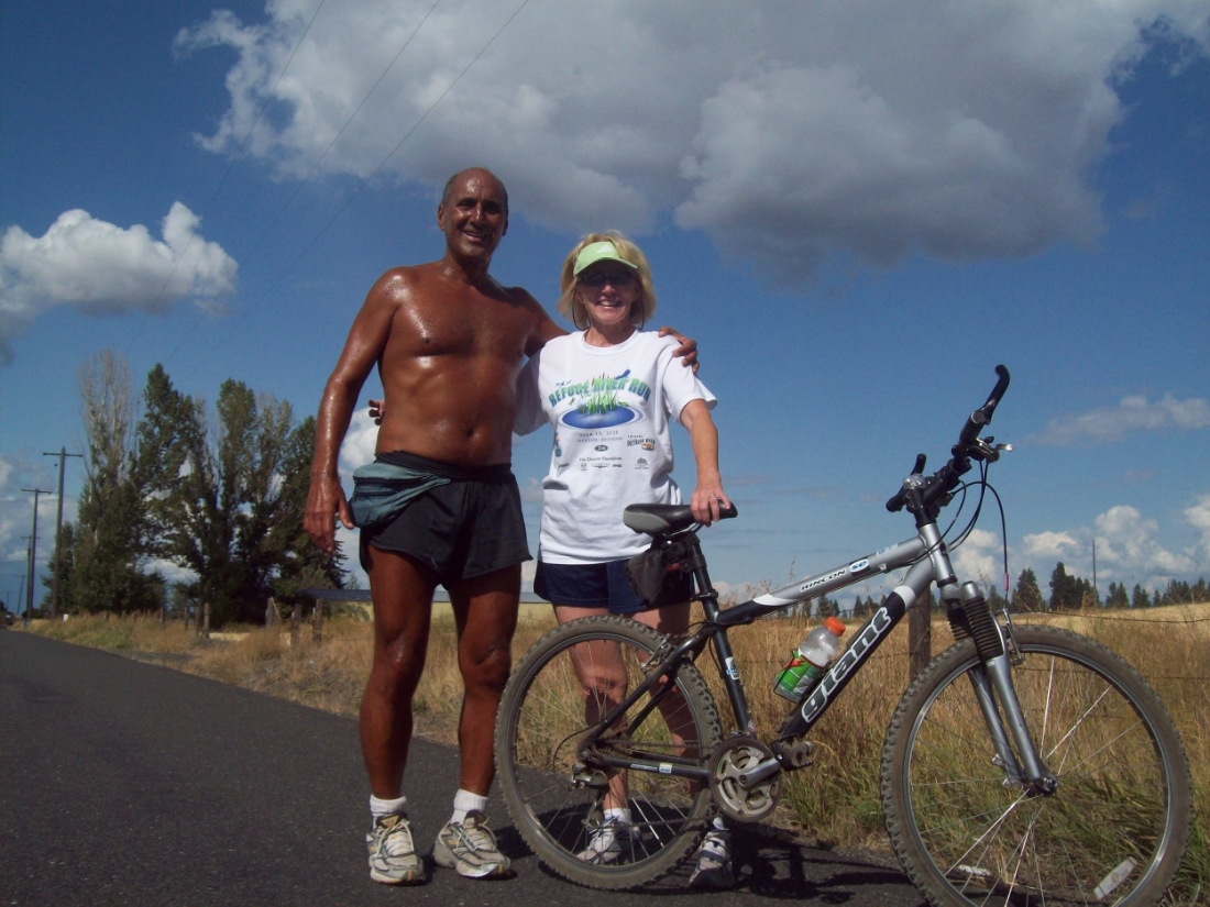 Bob and  me , Spokane, Washington, 2010