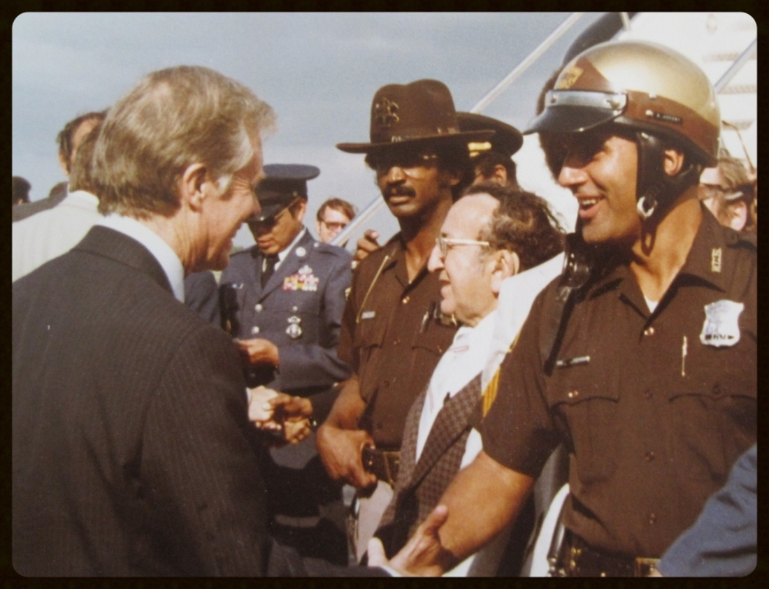 President Jimmy Carter and SGT Ankony, 1979