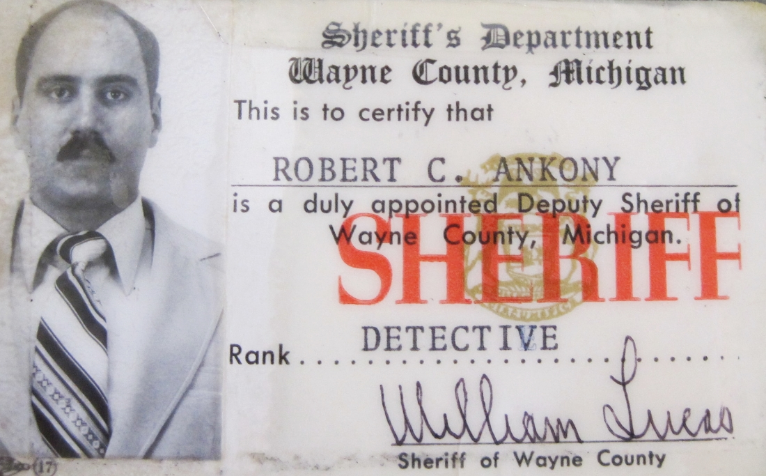 My sheriff's departmet identication