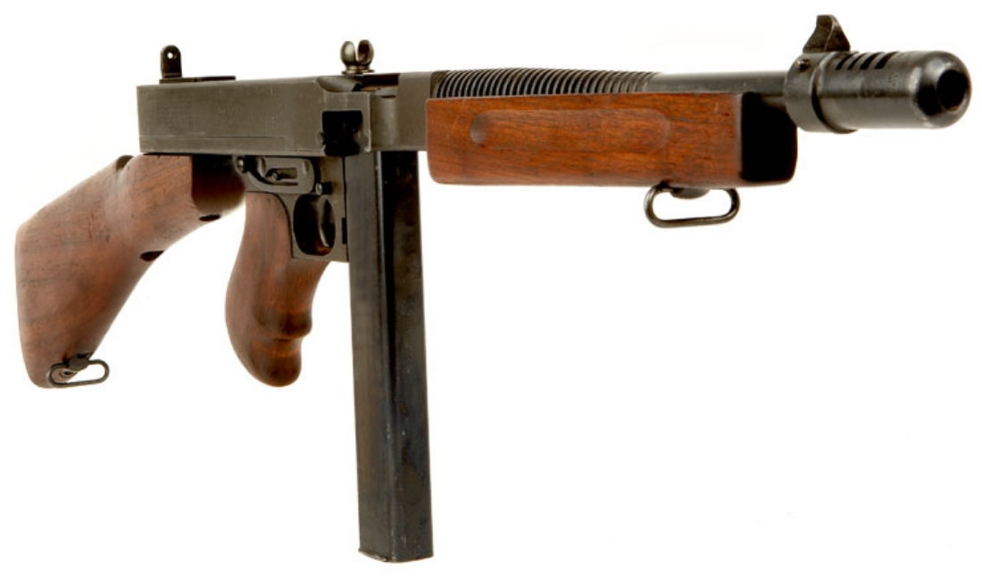 .45-caliber Model 1928A1 Thompson Submachine Gun